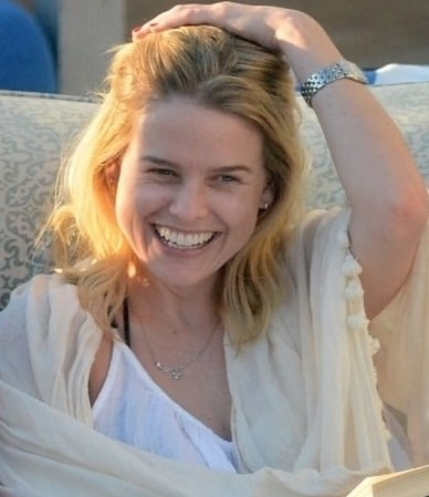 Alice Eve without makeup