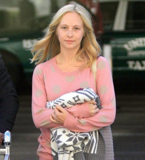Candice Accola without makeup
