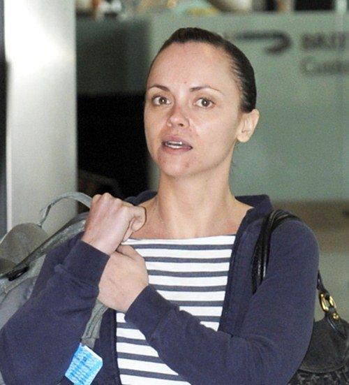 Christina Ricci without makeup