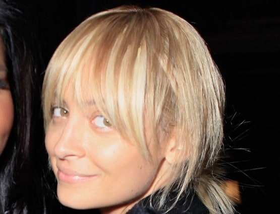Nicole Richie no makeup