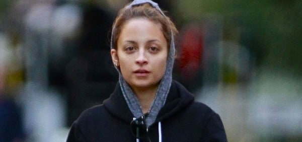 Nicole Richie without makeup