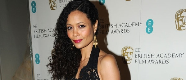 Thandie Newton pretty on red carpet