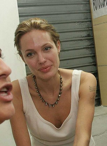 Angelina without makeup