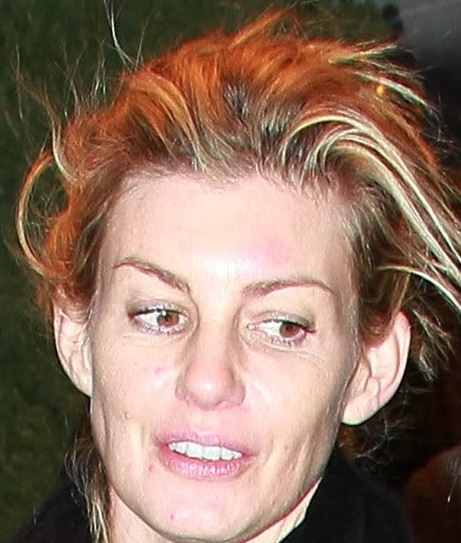 Faith Hill without makeup