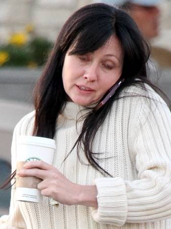 Shannen Doherty without makeup