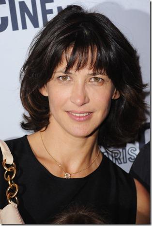 Sophie Marceau without makeup