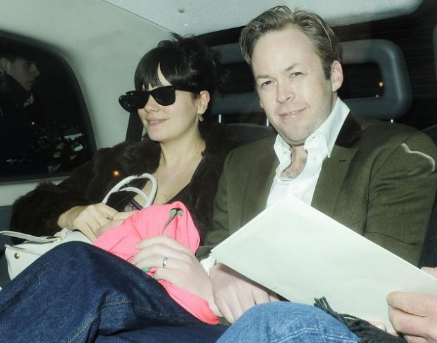 lily allen and husband