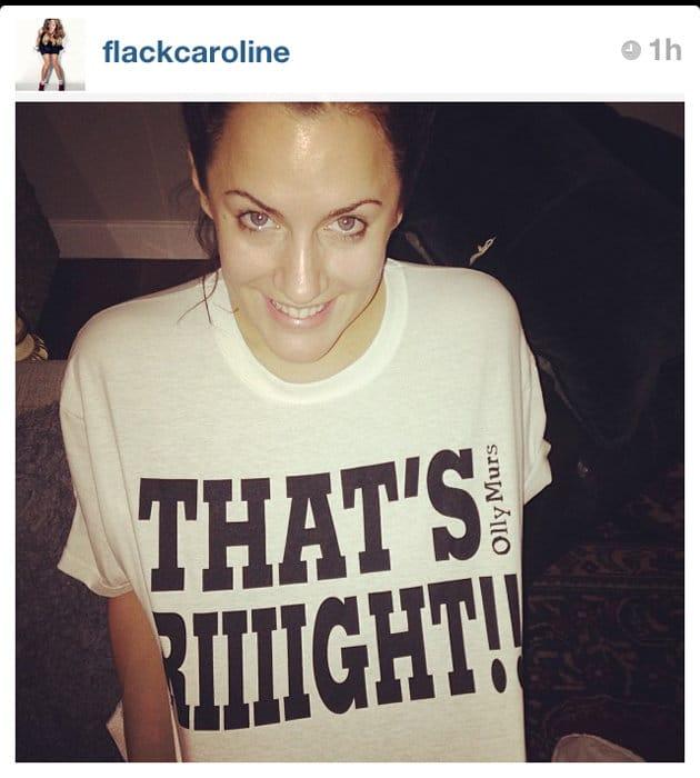 Caroline Flack no makeup