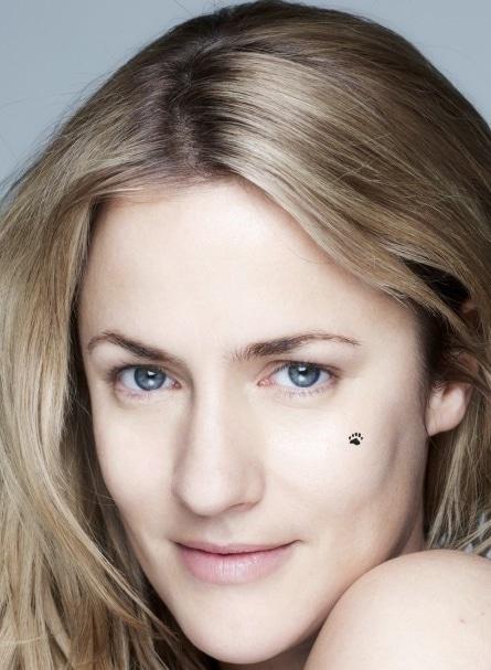 Caroline Flack without makeup