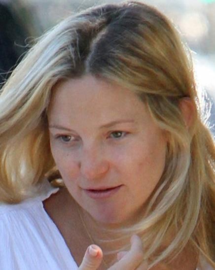 Kate Hudson without makeup
