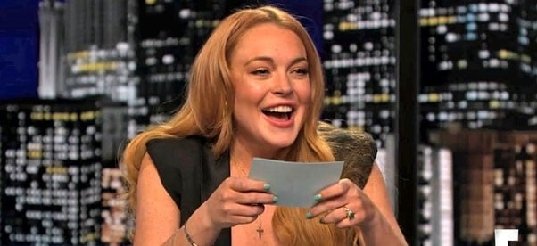Lindsay Lohan Hosts Chelsea Lately