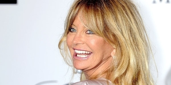 Goldie Hawn glamorous