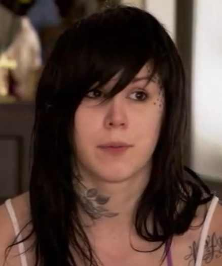 Kat Von D without makeup