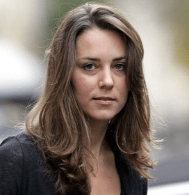 Kate Middleton without makeup