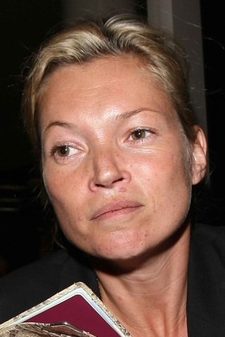 Kate Moss no makeup