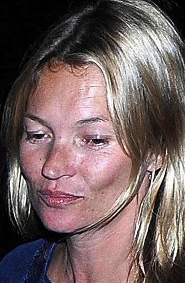 Kate Moss without makeup