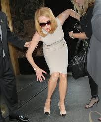 Nicole Kidman falling over