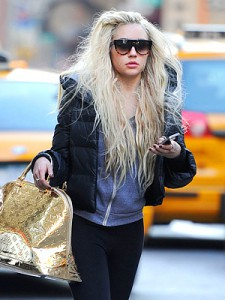 amanda bynes looking crazy as usual