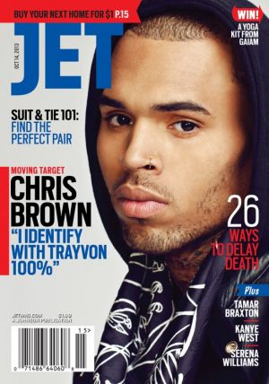 chris brown is a douche on jet magazine