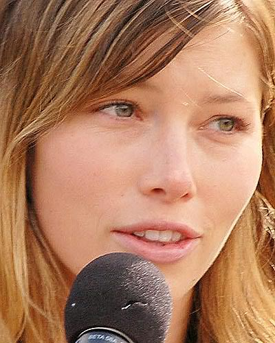 Jessica Biel without makeup