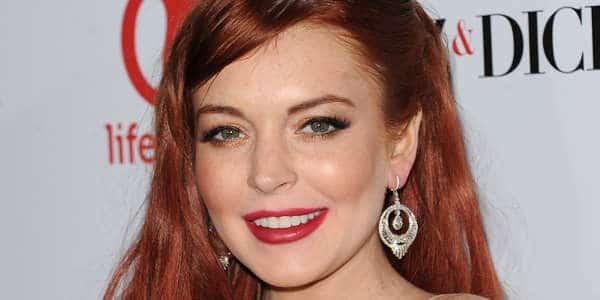 Lindsay Lohan glamorous