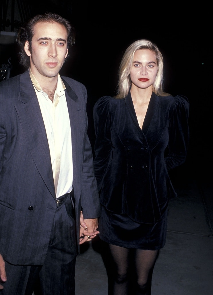 Nicolas Cage and Christina Fulton