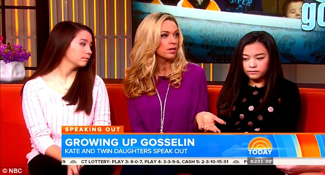 Kate Gosselin Twins Today Show
