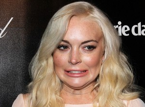 Lindsay Lohan Uh Oh face