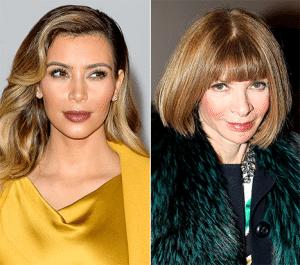 Anna Wintour vs Kim Kardashian