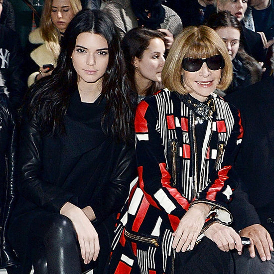 Anna Wintour Kendall Jenner Topshop show