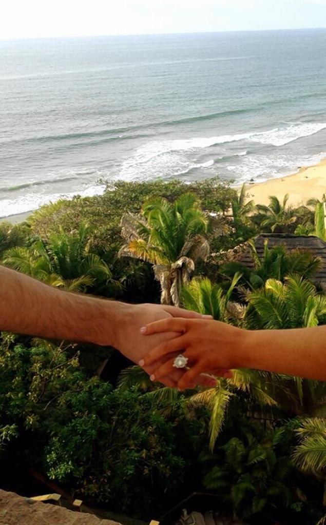 Christina Aguilera Engagment Ring