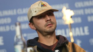 Shia LaBeouf At Press Conference for Nymphomaniac