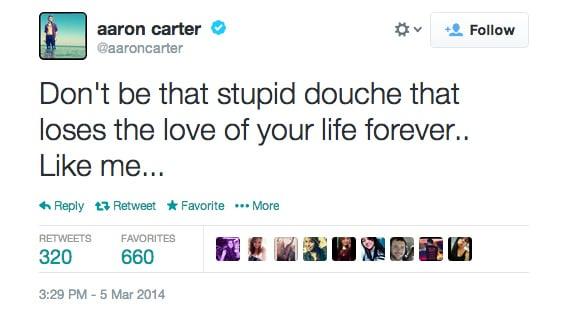 Aaron Carter Twitter Duff 1