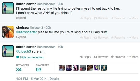 Aaron Carter Twitter Duff 3