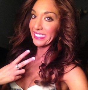 Farrah Abraham Peace Sign