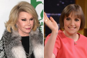 Joan Rivers hates on Lena DUnham
