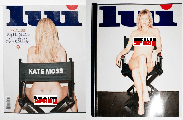 Terry Richardson Kate Moss shoot censored