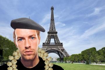 chris martin in paris