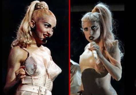 Lady Gaga Madonna Ponytail