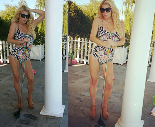 Jessica Simpson Bikini Instagram