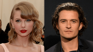 Orlando Bloom and Taylor Swift