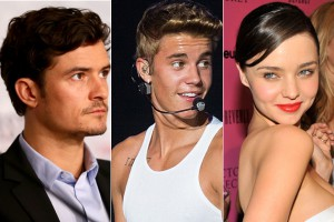 Justin Bieber vs Orlando Bloom