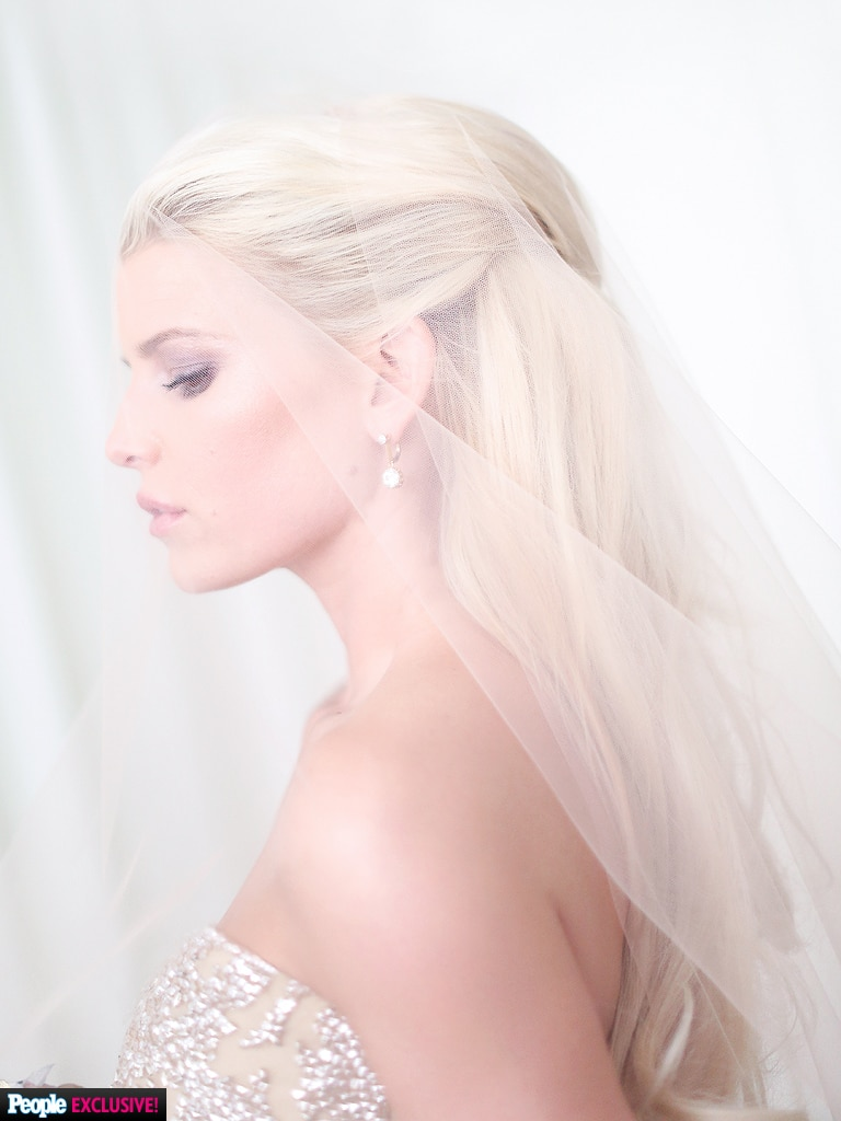 Jessica Simpson Wedding 2014