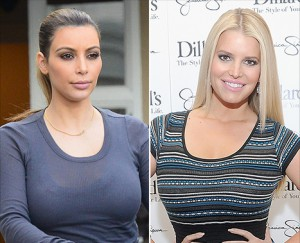 Kim Kardashian Jessica SImpson