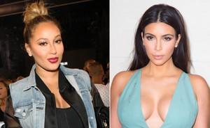 Adrienne Bailon Kim Kardashian