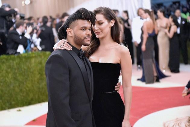 Weeknd bella hadid
