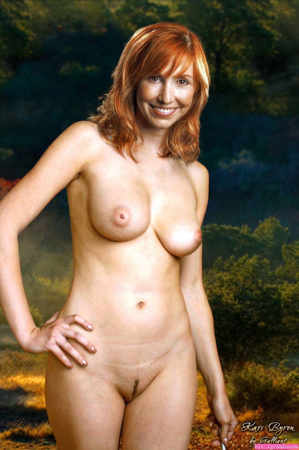 Kari byron naked real 9